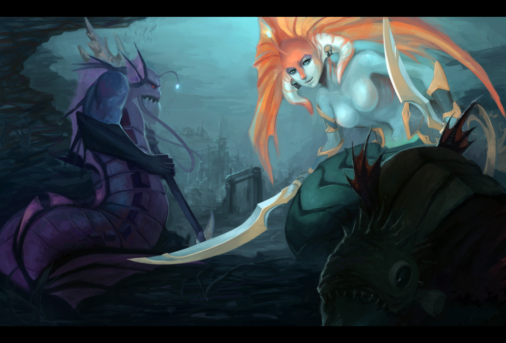 Under the sea~ by side34