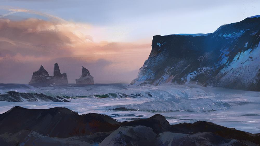 Landscape study by 3four