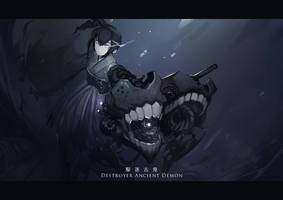 Destroyer Ancient Demon by 3four