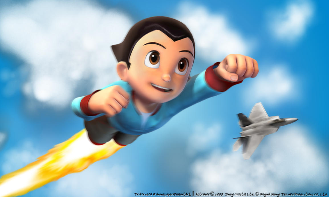 Unfinished Astroboy Wallpaper By Triforce06 On DeviantArt