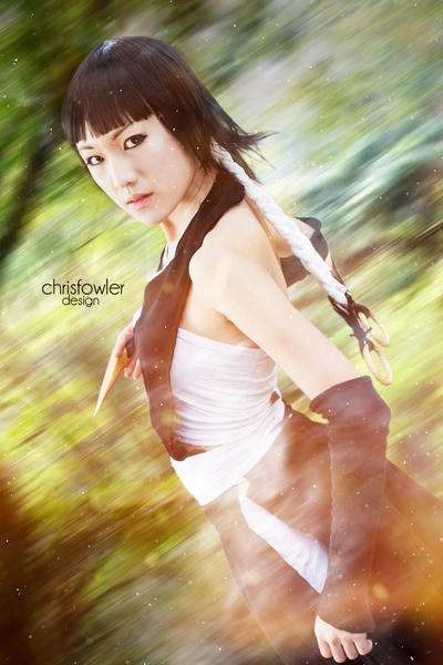 Soi Fon Striking by ChristopherFowler