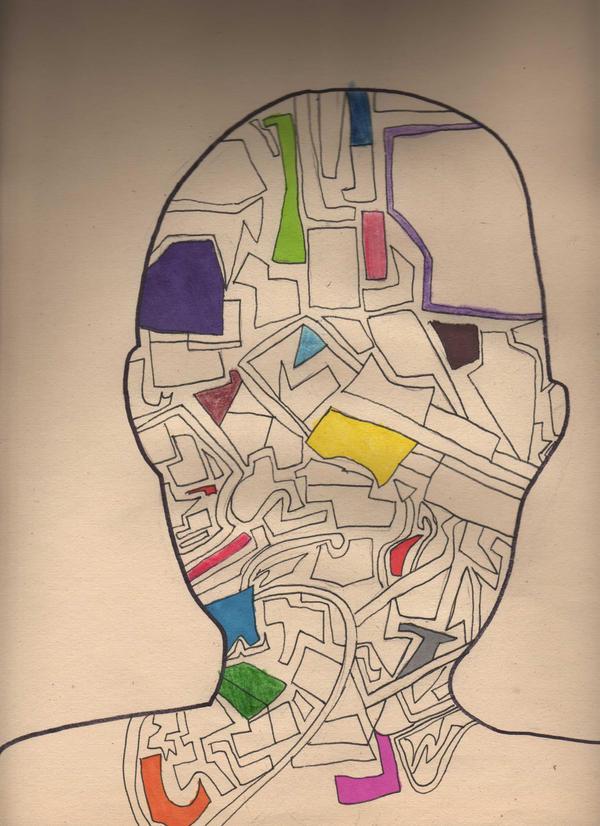 Brain Map by Rebelliousmunchkin