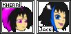 Kherri and Jacki DA Avatars by Junitea