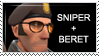 Sniper + Bill's Beret by ZhouTaisDayOff