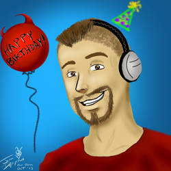 Happy Birthday, HarshlyCritical!