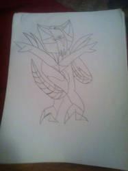 Rose guardian fakemon by fishut564