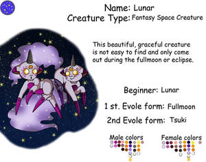 Battle Creature Sheet: Lunar