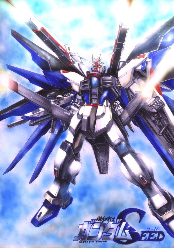Freedom Gundam by Tanaka-Yuki