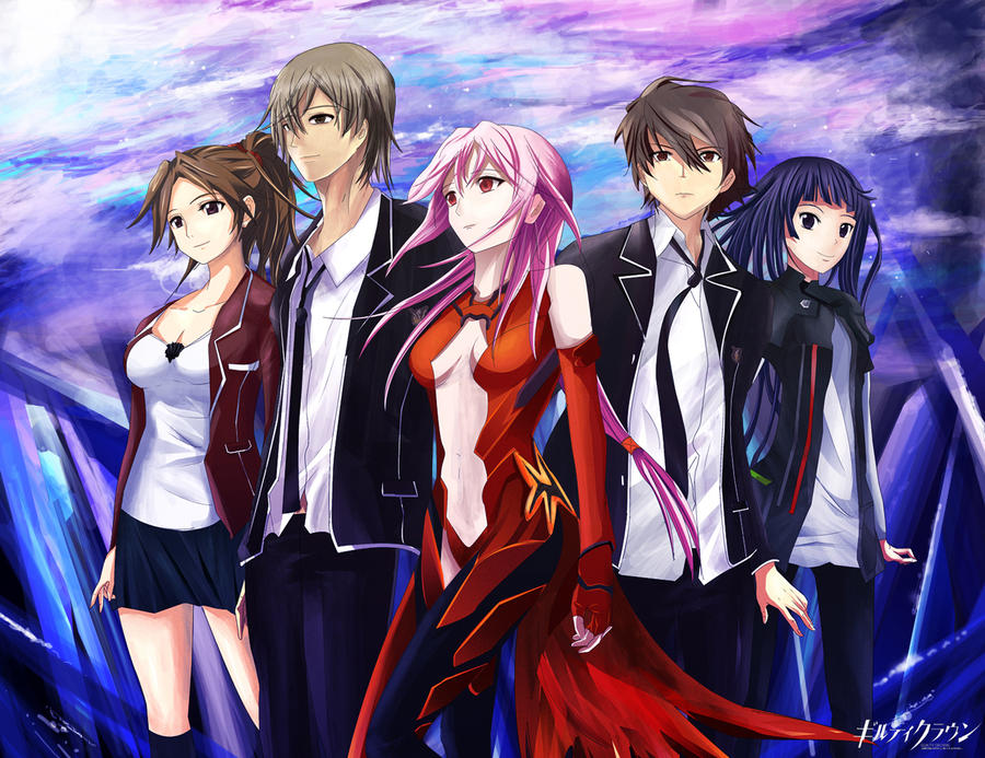 Guilty Crown fanart by Tanaka-Yuki