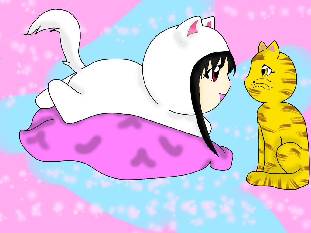 Kat y Orion by Yue-Yuki