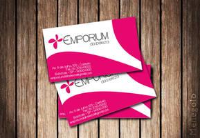 Business Card Emporium Beleza by Menegolo