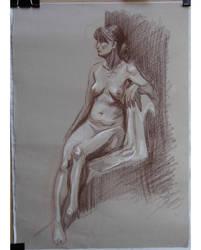 30 mins life drawing by jgoytizolo