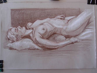 Life drawing by jgoytizolo