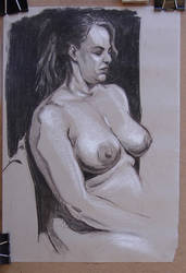 Another life drawing by jgoytizolo