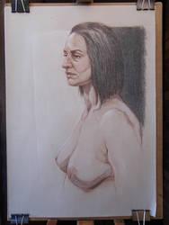 Nude Portrait by jgoytizolo