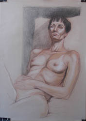 Monthly life drawing session by jgoytizolo
