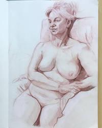 2 hours life drawing by jgoytizolo