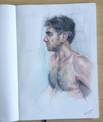 Life drawing in colour by jgoytizolo