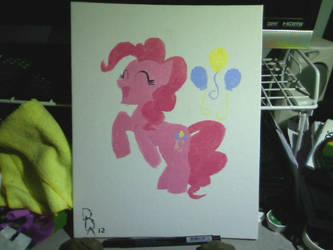 Pinkie Painting 2 by Halekyn-Steel