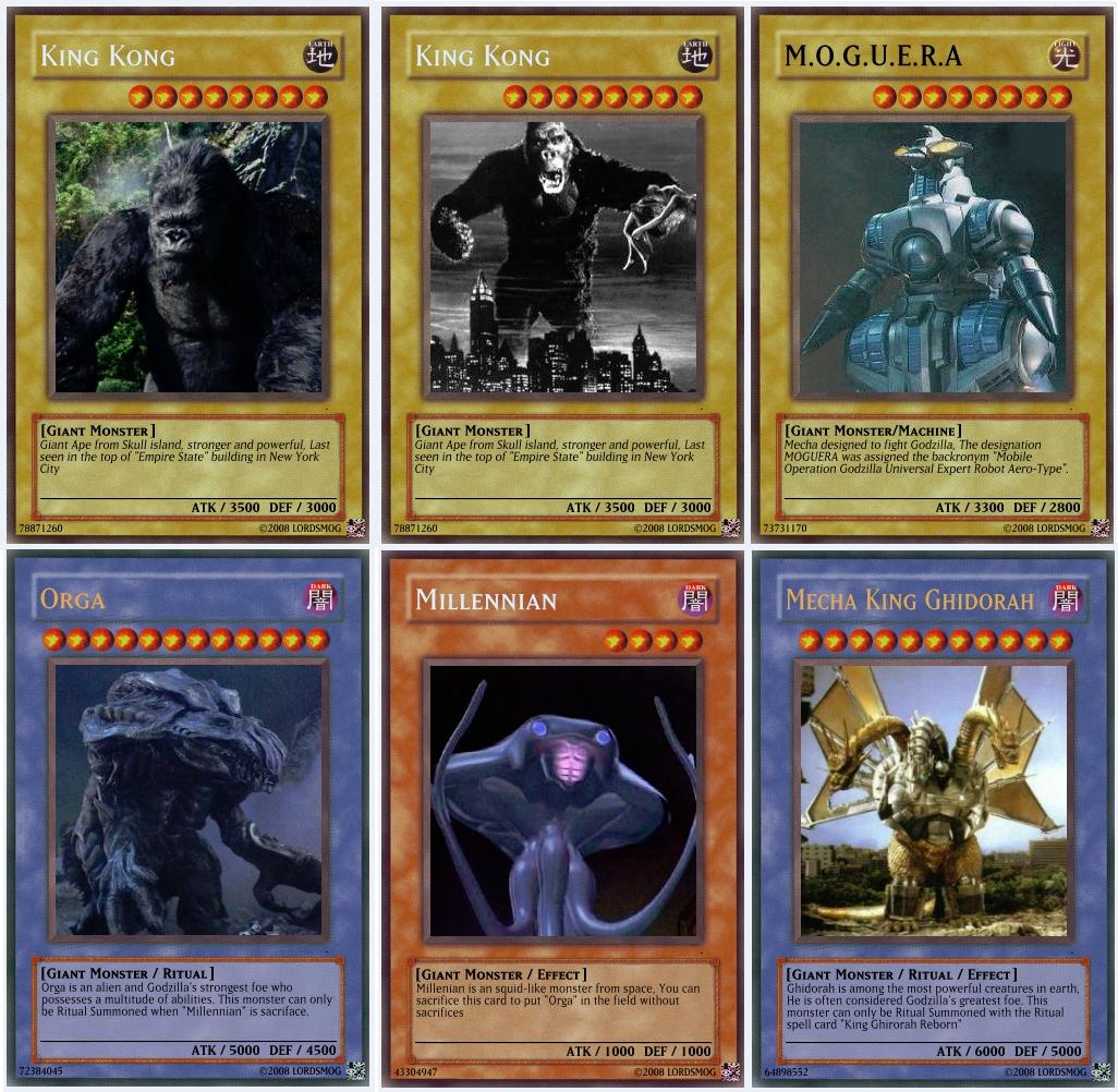 giant monsters yu gi oh cards2 by lordsmog on deviantart