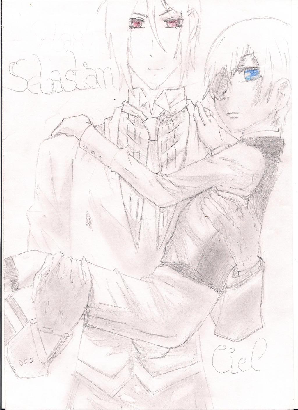 Ciel und Sebastian by diary1