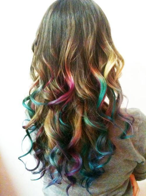 Dyed Tips By Mikumika On Deviantart