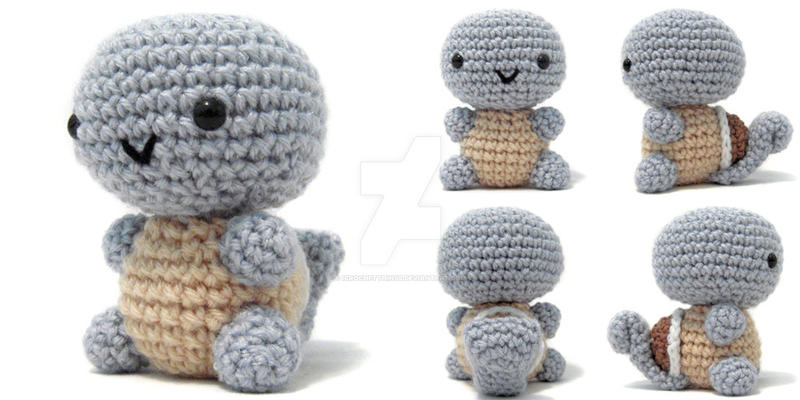 Squirtle Amigurumi by icrochetthings on DeviantArt