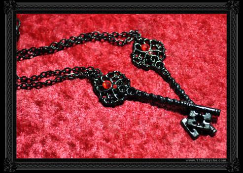 'Black Key' Necklace