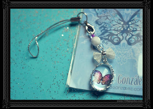 'Butterfly' Phone Charm
