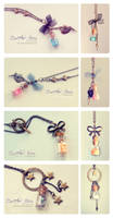 Bottled Stars. Necklace collection