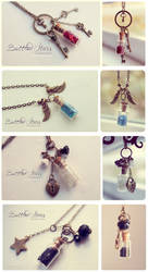 Bottled Stars. Necklace collection 2