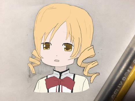Why So Worried Tomoe Mami? - Madoka Magica Fanart