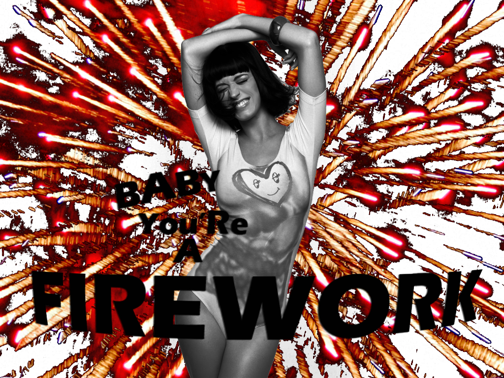 Katy Perry - Firework by CosmicHaze on deviantART