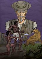 THE HUNT Cover Draft 02 by KhotsoDube