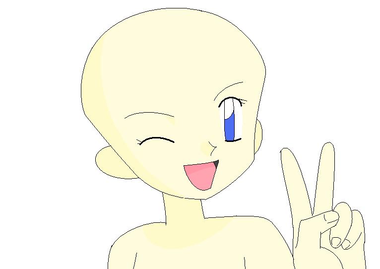 pokemon girl wink base by xxchimamaxx on deviantart