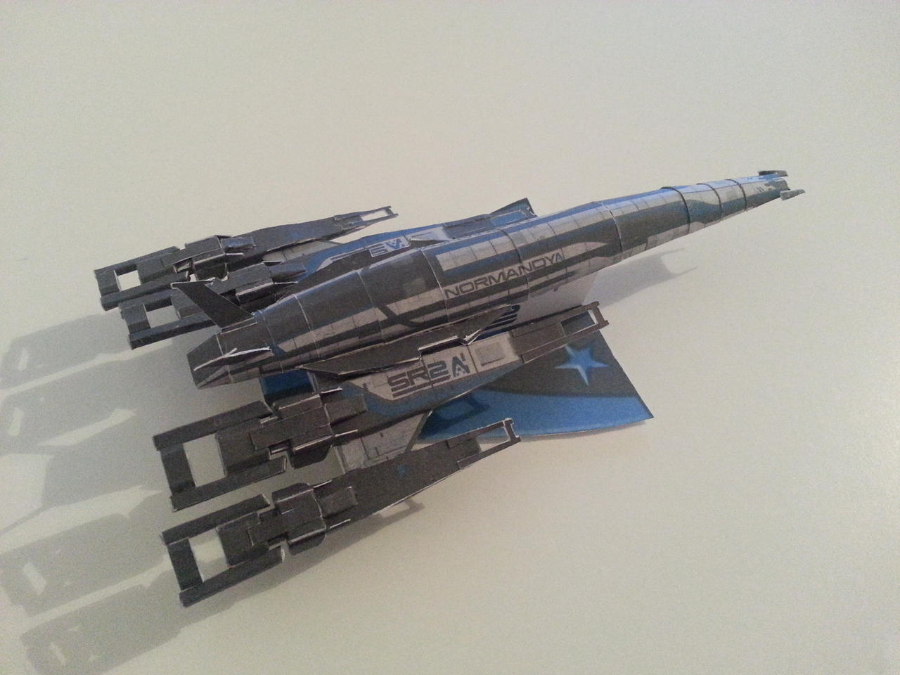 ME3 Alliance Normandy SR2 by Draconis1609