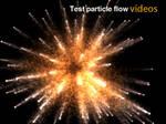 Test particle flow..