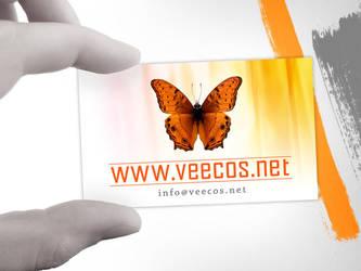 veecos - Business Card by SofianeAV