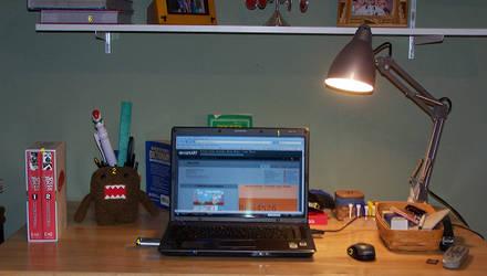 My Desk by Riku4526