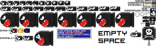 Custom Bullet Bill and Co. by Riku4526