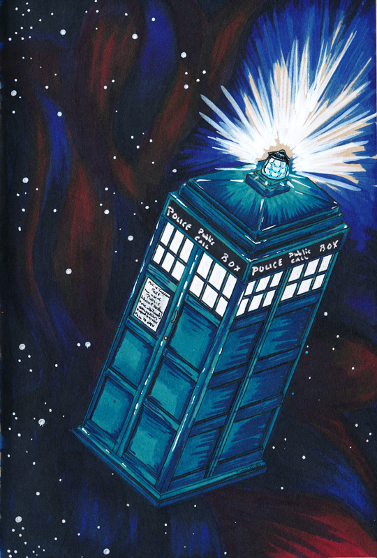 Dr Who Tardis by Trigar