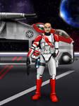 Clone Lt. Zell V2