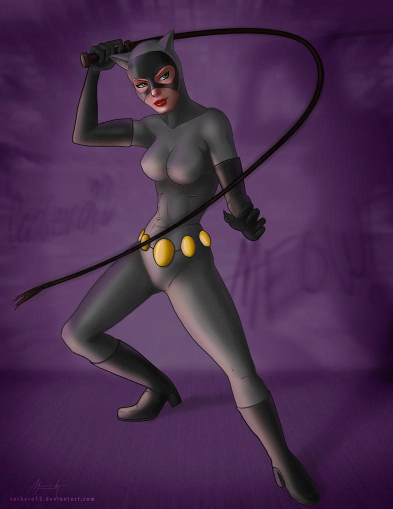 catwoman by Mauricio-Morali