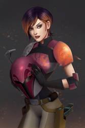Sabine: explosive artist by Mauricio-Morali