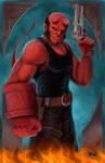 Hellboy tribute