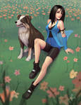 Rinoa and Angelo
