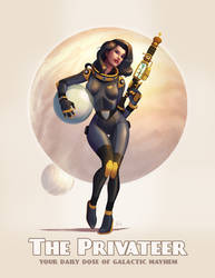 Astro Pinup12 - The Privateer