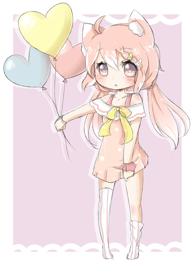 Cute balloons by Red-head-girl