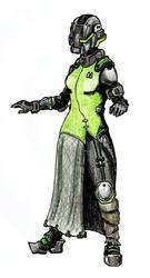 Destiny female warlock idea by Tuftedplanelucy99
