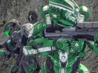 Halo 4 - wallpaper by Tuftedplanelucy99
